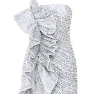 Dresses & Skirts - Silver Sequin Dress